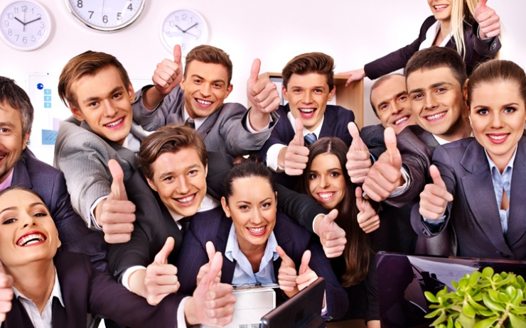 Employees thumbs up for effective time management techniques